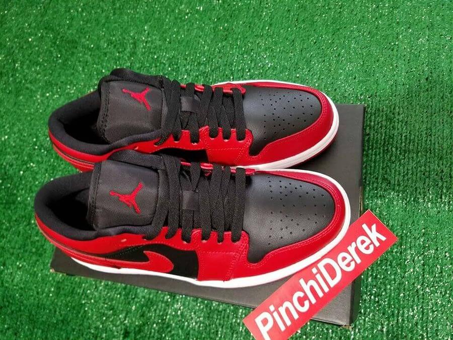 Air Jordan 1 Low Reverse Bred 2