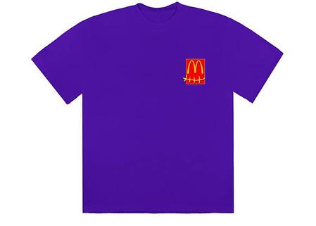 travis scott x mcdonalds action figure tshirt purple 1