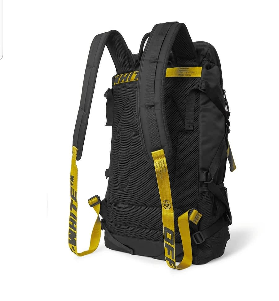 offwhite black backpack 3