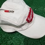 supreme adjustable white hat 1