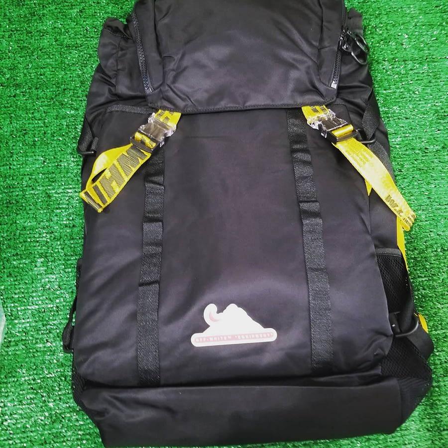 OffWhite Backpack Black Virgil Abloh NWT 1