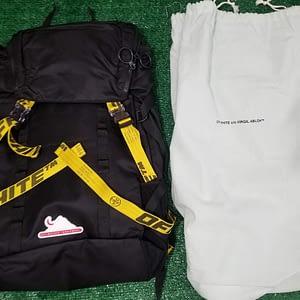 offwhite black backpack