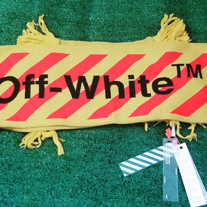 Off-white Virgil Abloh Arrows Scarf