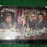 scarface X el chapo framed picture 1