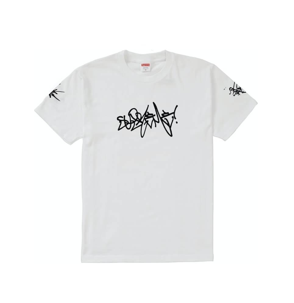 Supreme Rammezelle Graffiti Tag Tshirt Size Large 100% Authentic