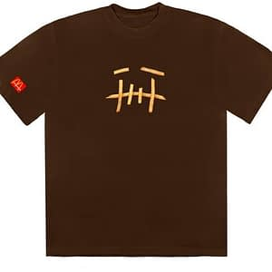 Travis Scott Cactus Jack X Mcdonalds Fry Tshirt