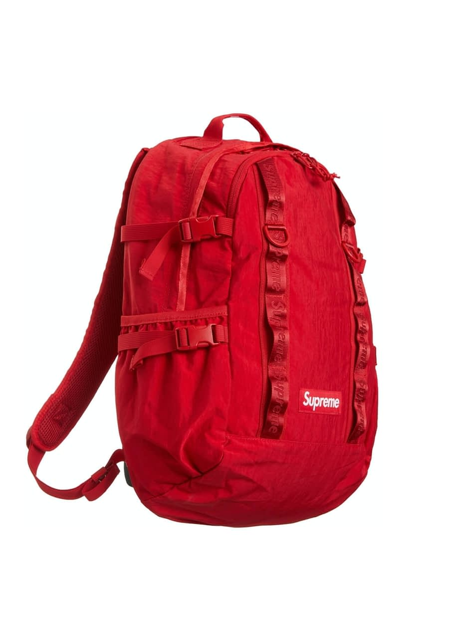 supreme red backpack 3