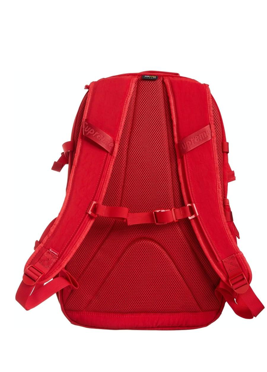 supreme red backpack 2