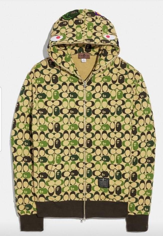 bape coach hoodie 02