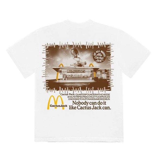 travis scott x mcdonalds nobody can do it tshirt 2