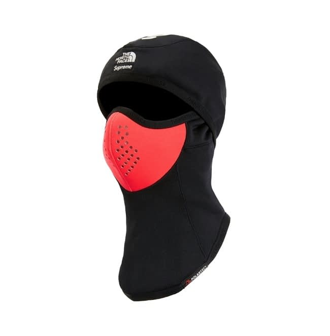 Supreme The North Face Balaclava Face Mask Black Red