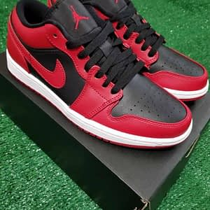 Air Jordan 1 Low Reverse Bred 1