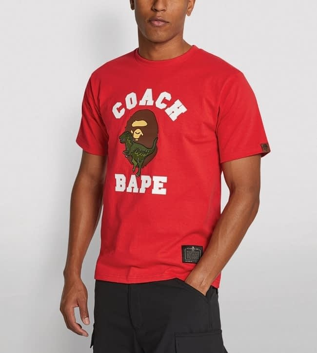 bape coach shirt 1