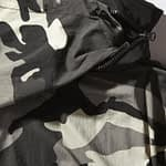 Sprayground Camo Pullover Shark Logo Jacket Size XLarge 4