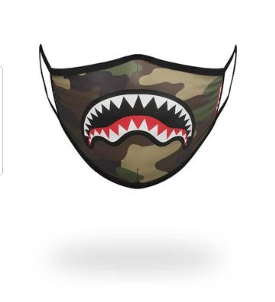 Sprayground Face Mask Camouflage 1